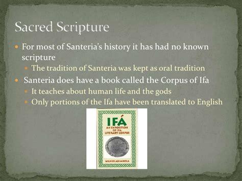 santeria and their meanings santeria