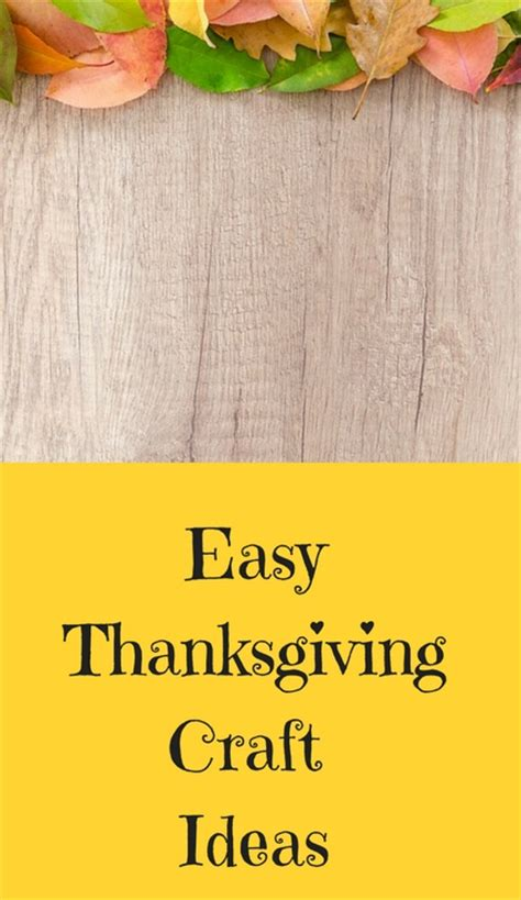 easy thanksgiving craft ideas meeting ideas scout leader