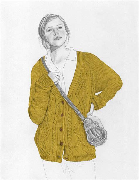 knitting drawing drawing illustration knit knitted knitwear unban