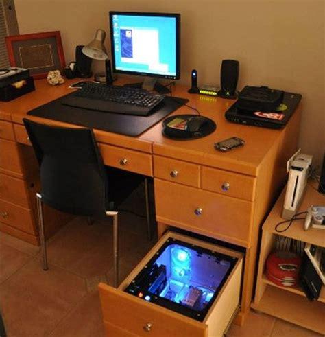 desk pc build the 25 best ideas about computer built into desk on