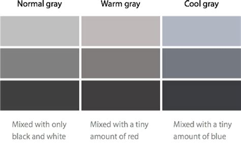 different shades of gray different shades of grey paint for pictures