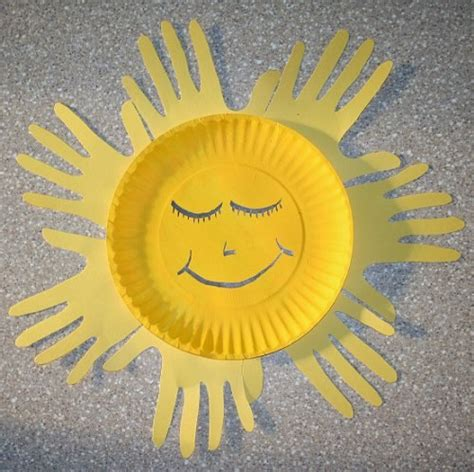 paper plate sun craft diy paper plates crafts for