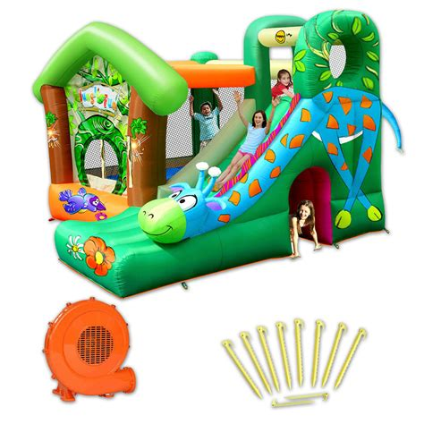 structure gonflable happy hop jungle pas cher en vente sur stock nautigames