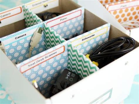 home organizer 15 diy cord and cable organizers for a clean and
