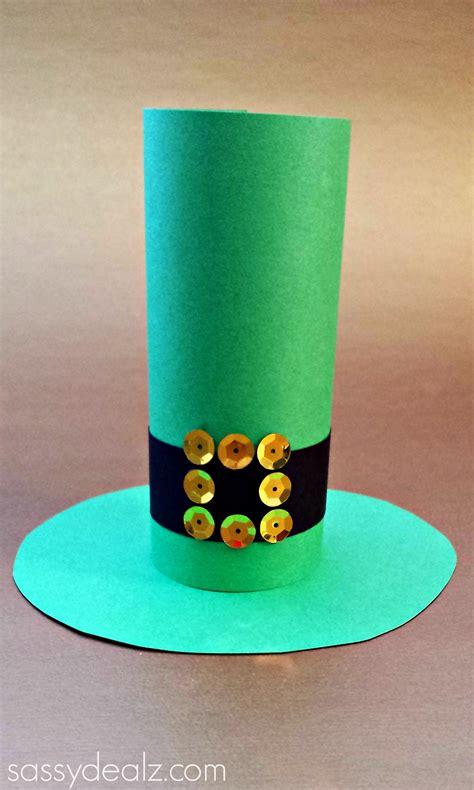 leprechaun toilet paper roll craft leprechaun hat toilet paper roll craft for st s