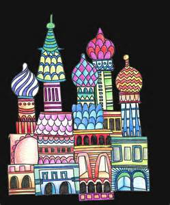 russian craft projects alphabetty st basil cathedral printable project