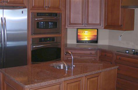tv for kitchen cabinet small kitchen tv drop tv in kitchen nexus 21