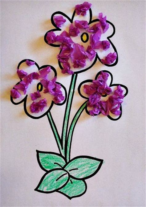 flower tissue paper craft 20 best images about crafts on