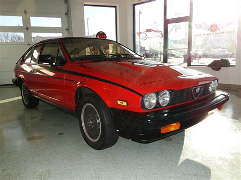 Alfa Romeo Gtv6 For Sale by 1982 Alfa Romeo Gtv6 Balocco S E For Sale 76858 Mcg