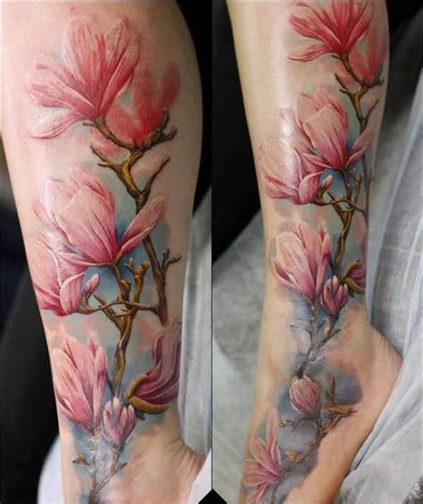 60 awesome magnolia flower tattoo made ever golfian com