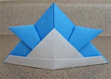 origami samurai helmet origami samurai helmet lovetoknow