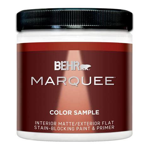 behr exterior paint primer colors behr marquee 8 oz base matte interior exterior paint