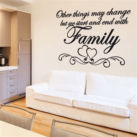 sticker wall quotes family wall sticker quote wall chimp uk