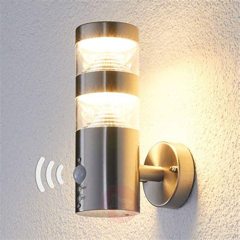 outdoor wall light led led outdoor wall light lanea with motion sensor lights co uk
