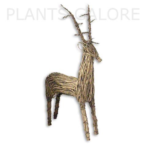 wicker reindeer decorations buy wicker reindeers order wicker reindeers the