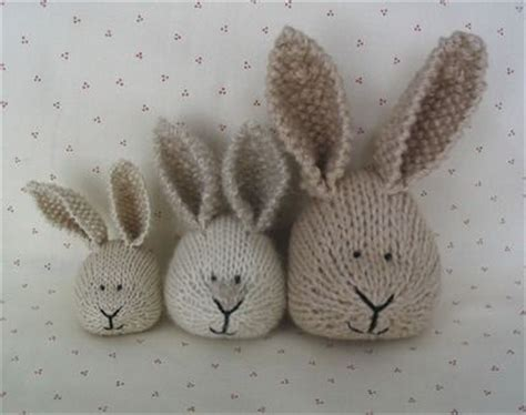 how to knit a bunny cotton rabbits