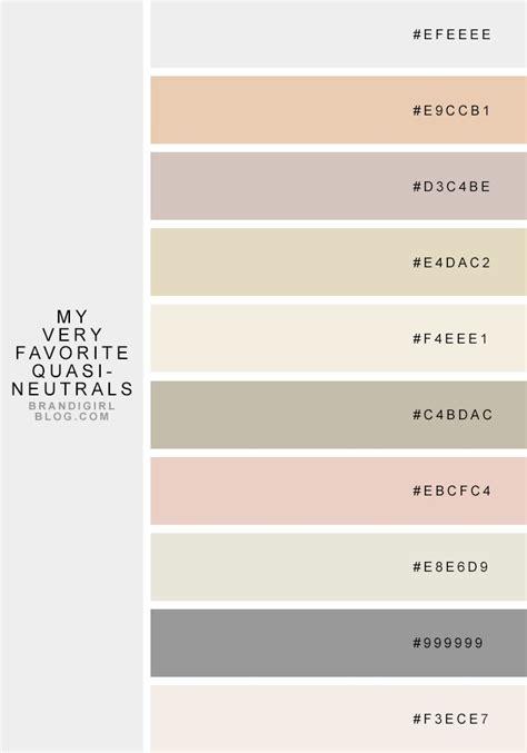 neutrals colors 25 best ideas about neutral color palettes on