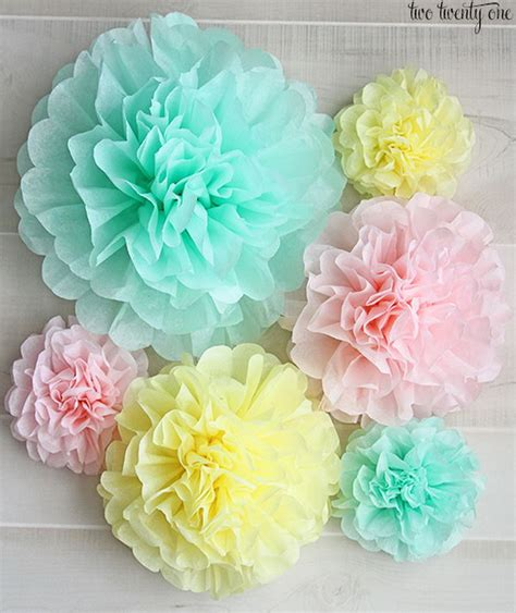tissue paper craft creative tissue paper crafts for and adults hative