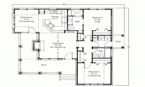 two bedroom plan design two bedroom house simple floor plans house plans 2 bedroom