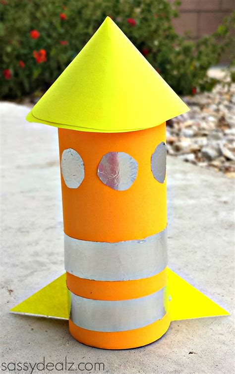 toilet paper roll crafts rocket toilet paper roll craft for crafty morning