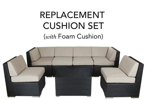 outdoor furniture replacement cushion covers complete replacement cushion covers with foam