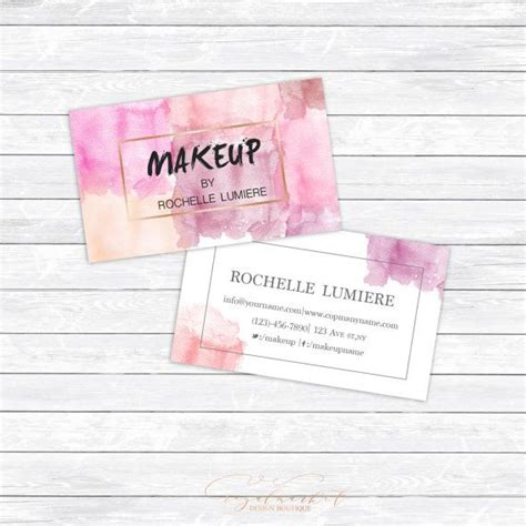 make calling card freelance makeup artist business card sles makeup vidalondon