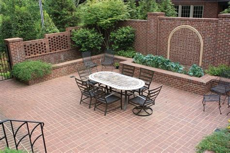 patio landscaping designs brick patio ideas landscaping network
