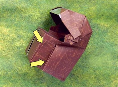 origami treasure chest joost langeveld origami page
