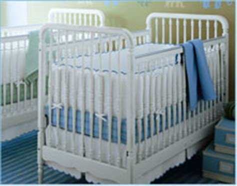 spindle baby cribs safety recall pottery barn drop side cribs recalled