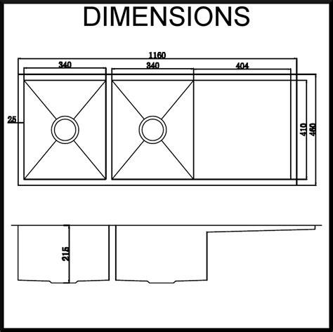 undermount kitchen sink dimensions