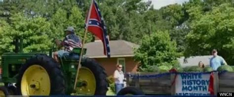 white history white history month float stirs controversy at july 4th