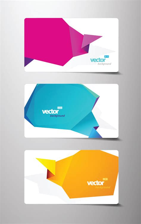 business origami origami business card vector ai svg eps vector free