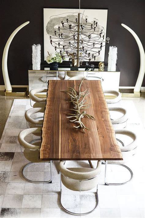 modern wood dining room tables 25 best ideas about rustic dining tables on