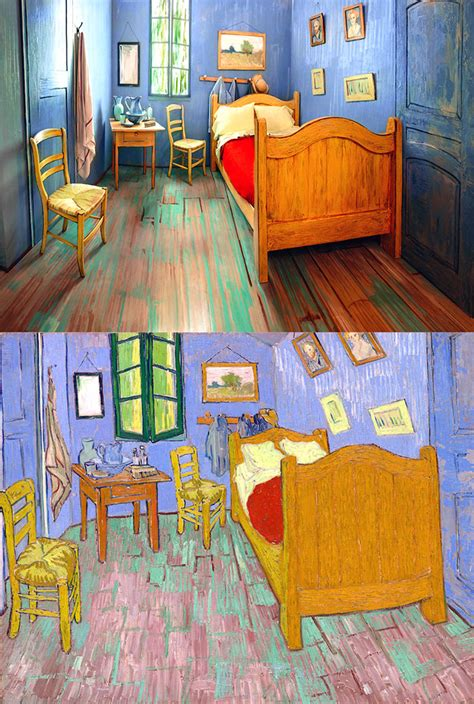 the bedroom gogh the best hotel sleep in an amazing painting by