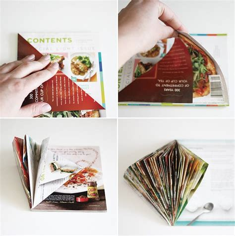 how to make paper from magazines 1000 ideas about magazine crafts on
