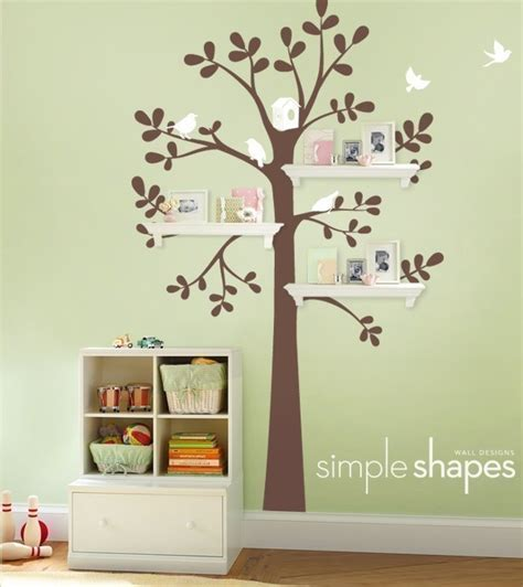 wall decor baby nursery wall decor and shelving tree baby nursery 2 home lilys