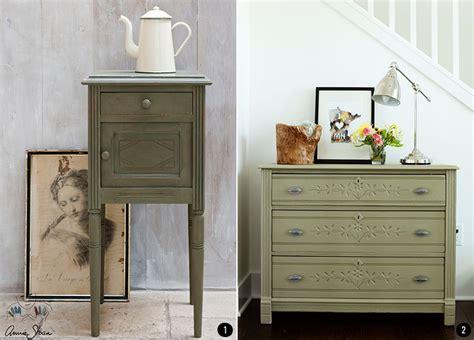 muebles pintados con chalk paint sloan 4 colores de moda para muebles pintados con chalk paint