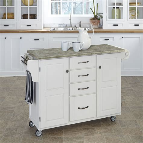 kitchen island carts home styles create a cart kitchen island with utility drawers kitchen islands and carts at