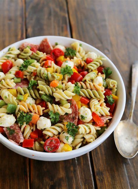 pasta salad recipe italian pasta salad recipe dishmaps