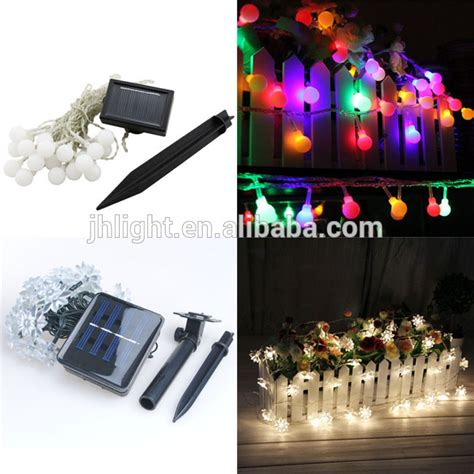 decorative outdoor string lighting led solar string light outdoor decorative lighting for