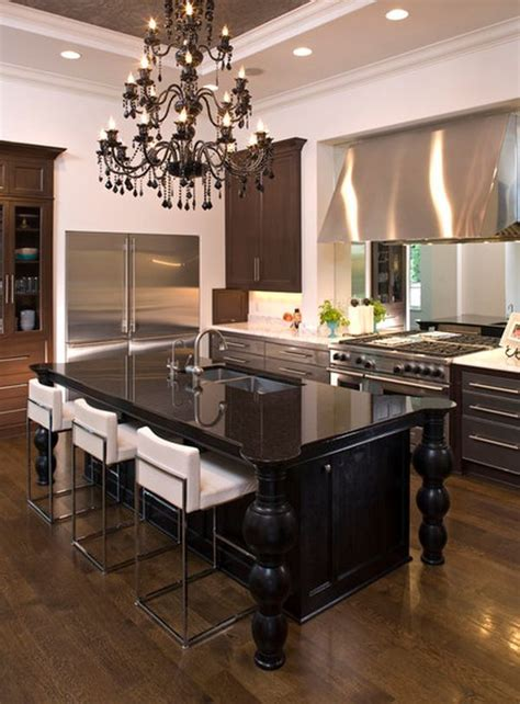 chandeliers for the kitchen and sumptuous black chandeliers