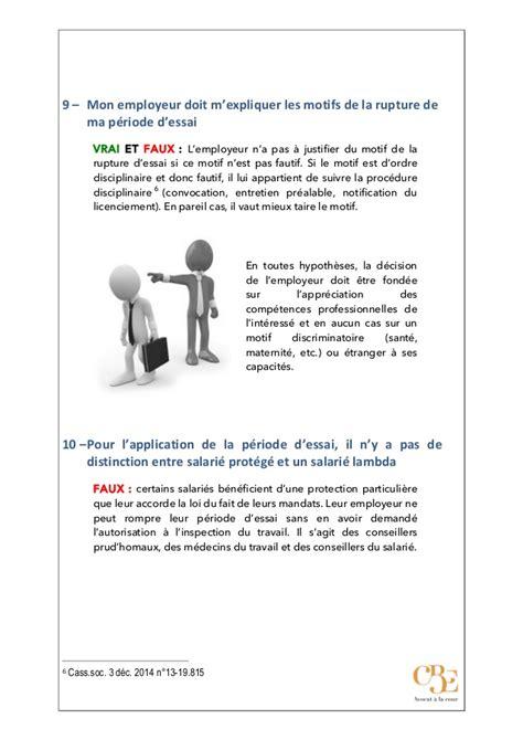 dix questions sur la p 233 riode d essai