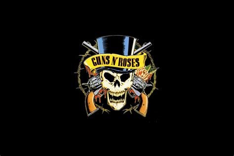 guns n roses logo wallpaper for 2880x1920