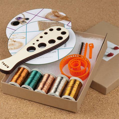 wire jewelry kits diy jewelry kit beginners wire crochet kit 4 by yoola