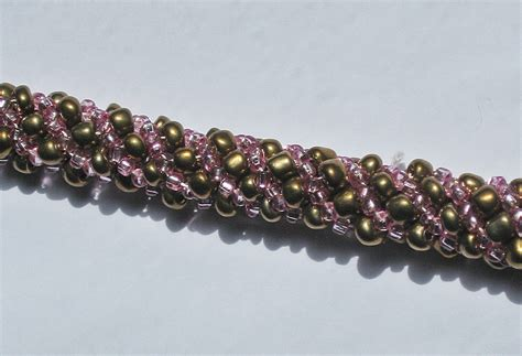 spiral beading legacy jewelry spiral stitch beaded rope project