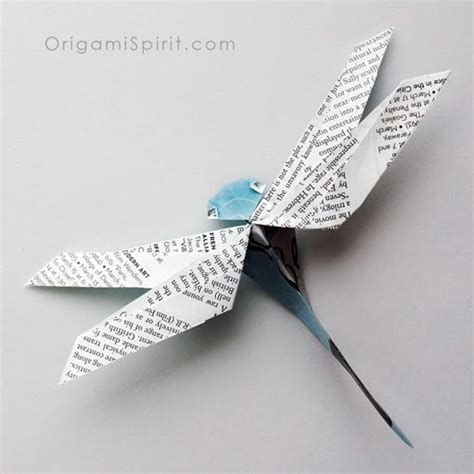 origami dragonfly how to make an origami dragonfly