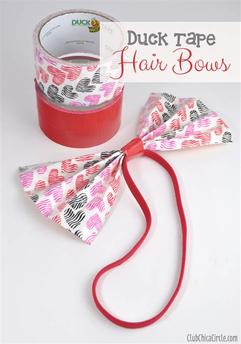 tween craft projects duck hair bows craft idea and tutorial for tween