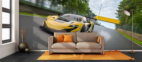 Car Wallpaper Decorating by Car Wallpaper For Home Car Themed Wall Murals Pictowall