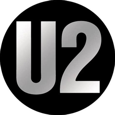 Posters Home Decor by U2 Logo Chrome Button