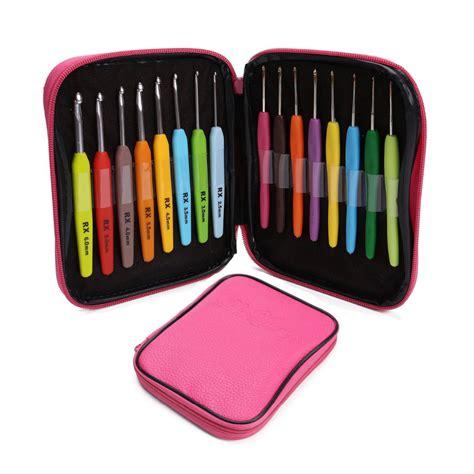 where to buy knitting needles aliexpress buy 16pcs set multi colour crochet hooks